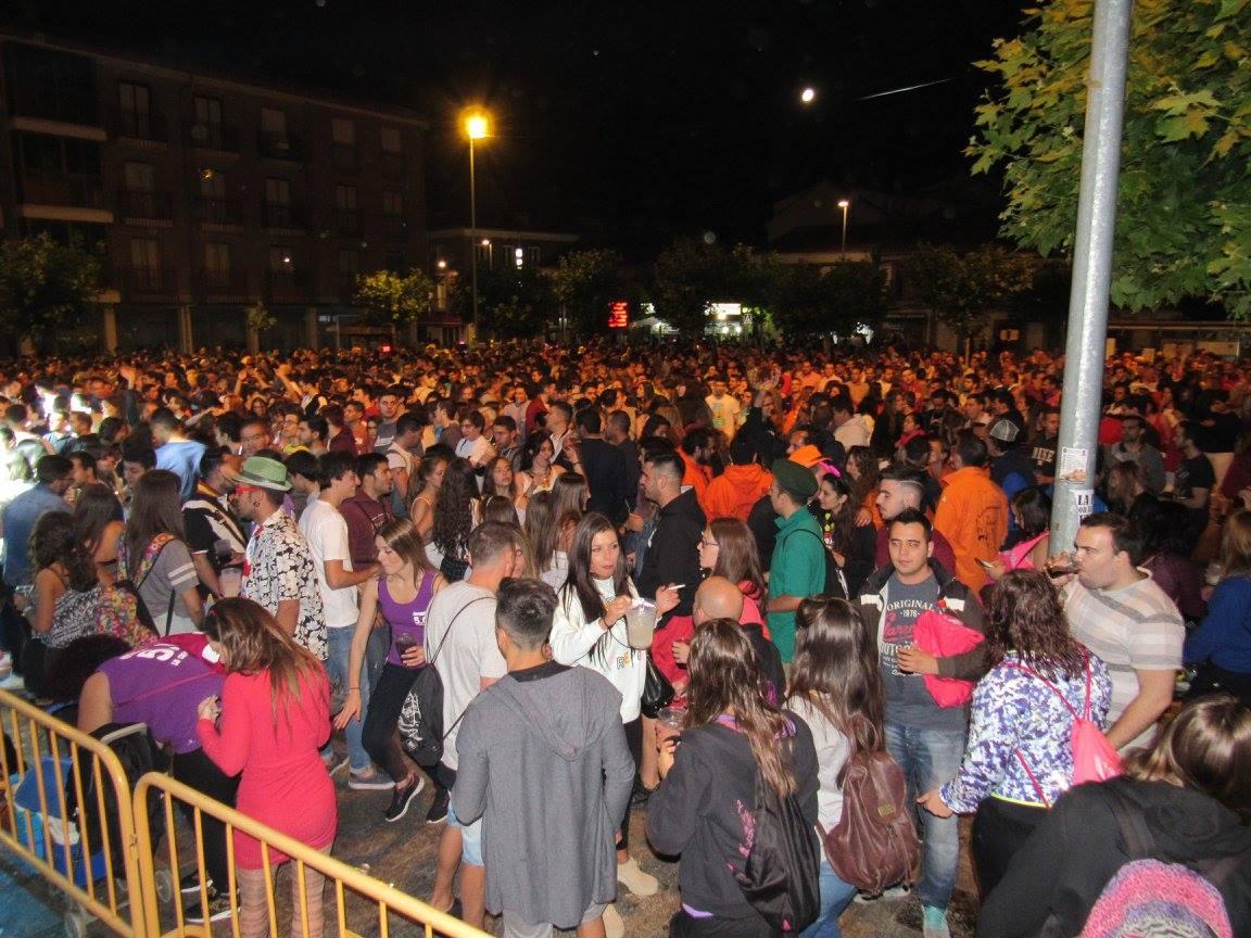 Baile en la Plaza Mayor