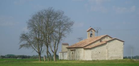Ermita románica en La Cistérniga